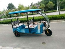 48V Electric rickshaw 2017 model for India Bajaj Auto Richshaw price
