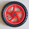 14 inch plastic pneumatic kids bicycle wheels