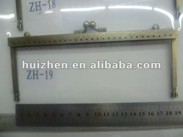 handbag frame, metal purse frame clasp
