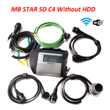 MB Star C4 SD Connect without HDD SSD Xentry Diagnostics Multiplexer Diagnostic Tool For Car and trucks Diagnosis Diagnose Win7
