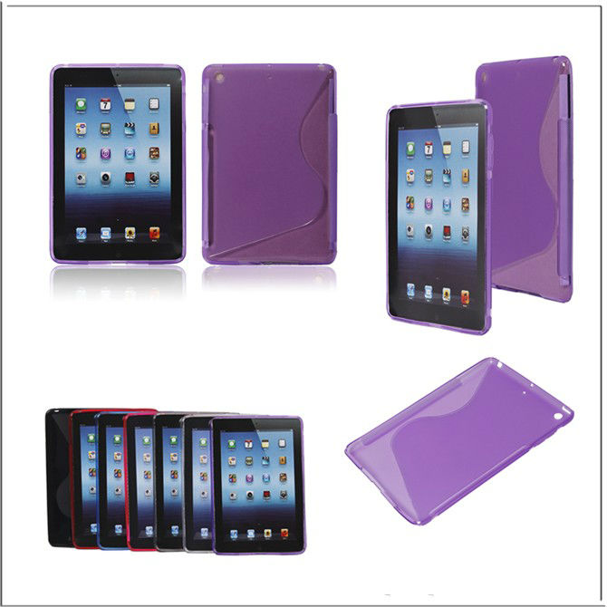 Soft and simple for ipad mini TPU case