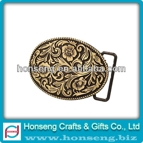 Pop Designed metal seat belt buckle
