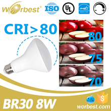 LED 8 Watt BR30 Flood Bulb, Perfect Replacement For 655W Recessed Can Light - Warm 2700K Color On Sale