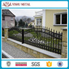 Factory price cheap residental new house wrought iron fence for sale