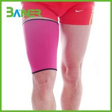 One size fit Custom colors Adjustable Neoprene Sport Thigh Support