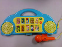 Kid mini musical keyboard with music and light