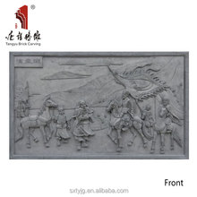 Chinese historical figures sculpture culture stone the three kingdoms