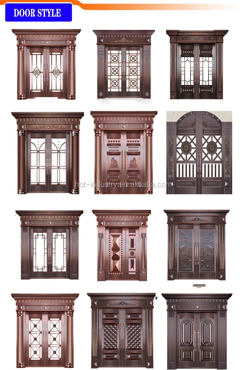 Elegant High End Non Standard Door High Quality Outside