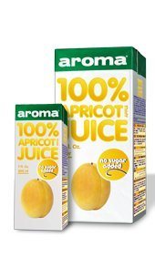 Aroma 100% Natural Apricot Juice
