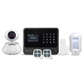 Contact ID central monitor Home Security Alarm System G90B Plus WIFI security alarm system smart home GSM alarm system