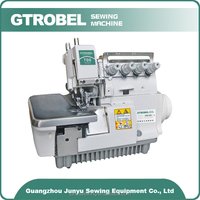 New electronic similiar to used juki 4 thread 5 thread overlock industrial sewing machine