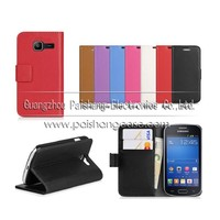 Wallet flip leather case for samsung Galaxy Trend Lite S7392
