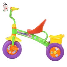 Newest Plastic 3 Wheels Baby Tricycle /Children Bike / Kids Bicycle for 1-6 Years Old Children