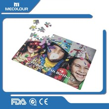 Mecolour customized full color printing paper puzzles game 48 pieces floor puzzles