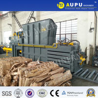 3% discount for used clothing baling machine