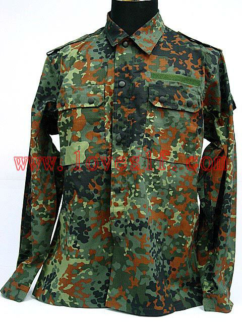 Loveslf German camo BDU military tactital uniform 2015