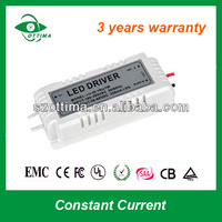 3 years warranty external constant current 300ma waterproof led driver 3W