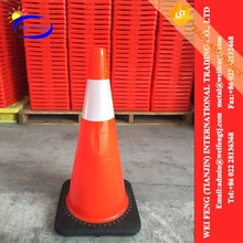 CE Certified pvc foldable road traffic cone DONGGUAN OEM WHOLE SALE closed cell pvc/nbr foam