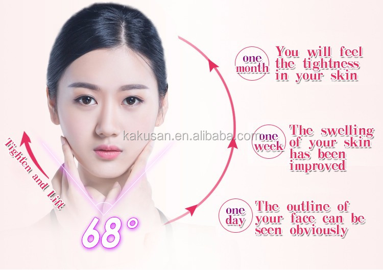 kakusan face lifting beauty massager skin tighten beauty roller germanium facial beauty roller