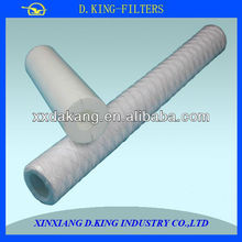 Supply water filter material