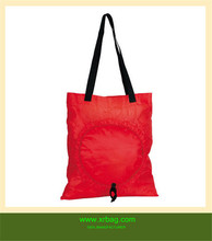 Reusable recyclable shopping bag folding nylon bag