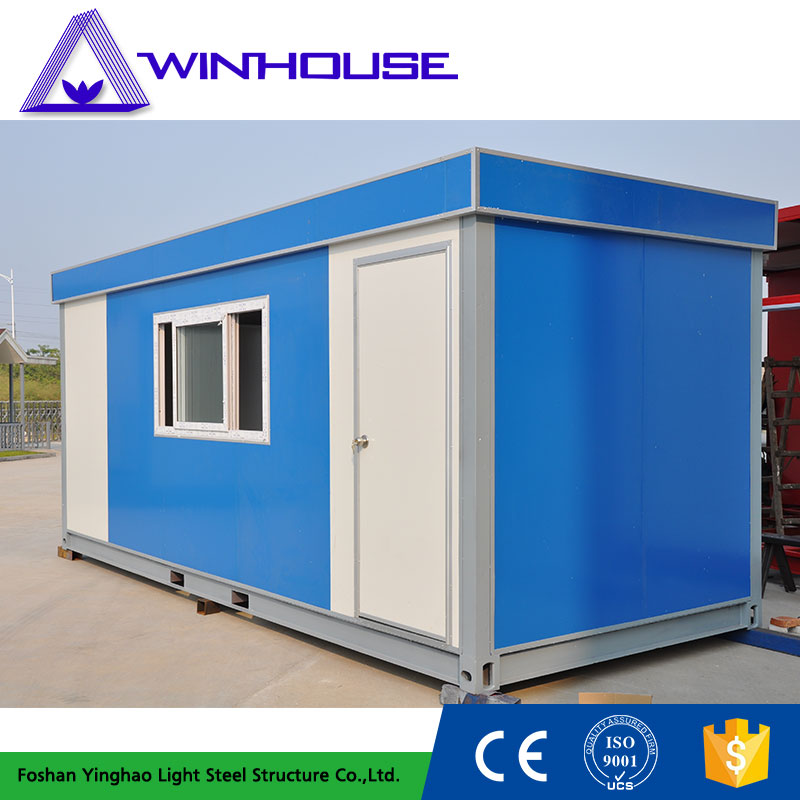 China High Quality Steel Structure Concrete Prefab Modular Homes