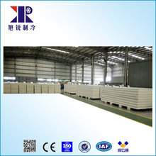 Wall / roofing steel color 200mm PU sandwich Panel / Polyurethane board from china supplier