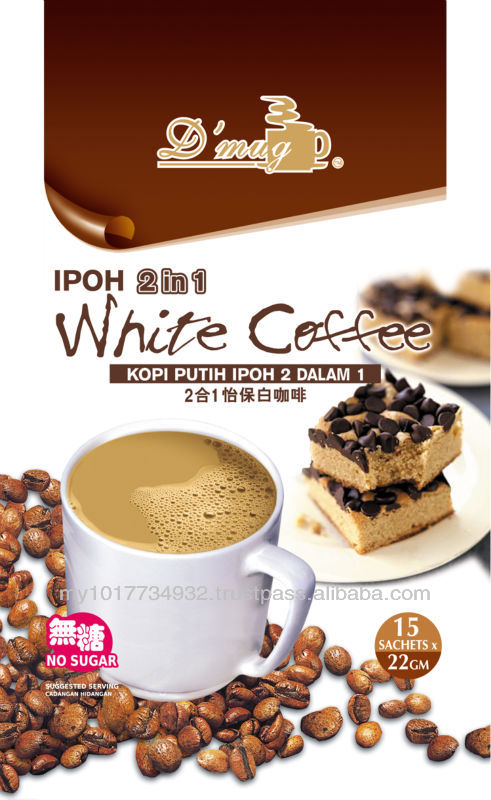 Ipoh 2 in 1 White Coffee Sugar Free