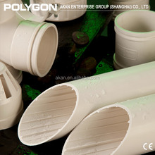 DIN standard green Plastic Polygon Pipe Fittings For Pvc