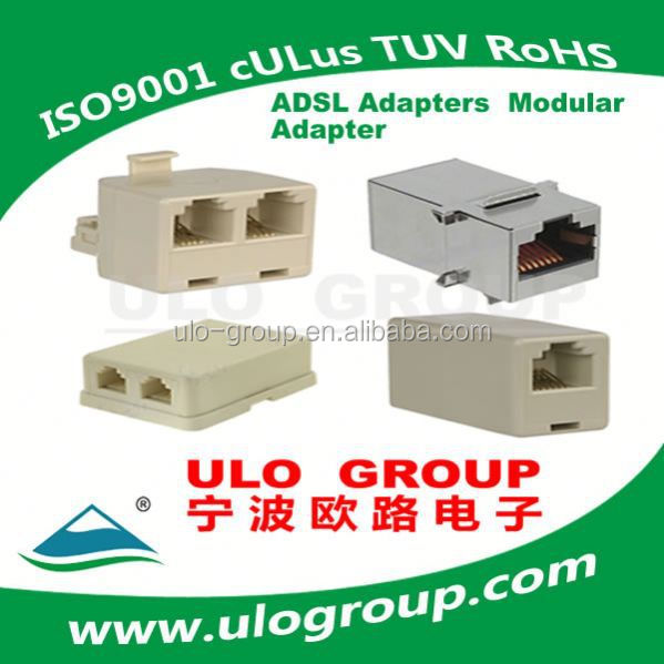 Chinese economic panel mount rj45 poe connector ulo group 021