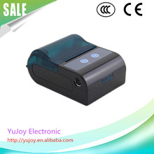 China supplier 58 mm 80mm/s speed portable bluetooth mobile thermal printer