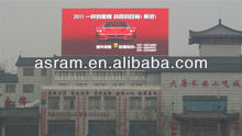 Beijing China---outdoor advertising p10 led display full color with steel cabinets,fixed installation led screen