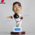 3.75 inch Small Size Plastic Promtional Baseball Player Figurine
