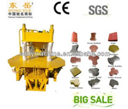 Thailand cement soil interlocking brick machine with better price DY150TB of Dongyue company