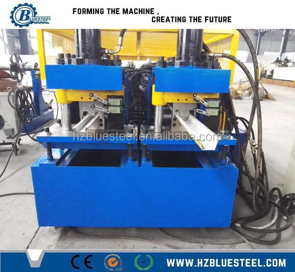 C Z <strong>U</strong> L W Shape Profile Section Light Steel Keel Galvanized Metal Studs And Tracks Roll Forming Machine