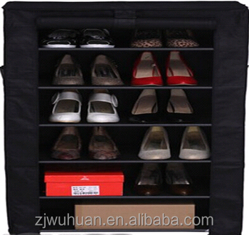 portable shoe storage cabinet