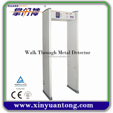Infrared ,6 zones ,LED display Walk-Through Metal Detector better price