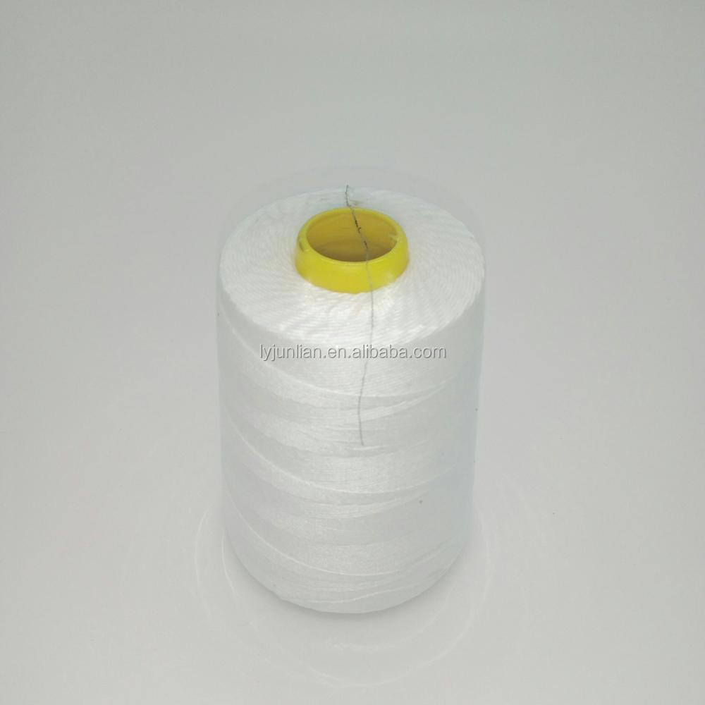 20s/8 cheap polyester bag closing thread for pp bag