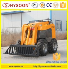 2015 new mini skid Wheeled mini skid steer loader