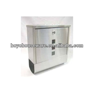 stainless steel outdoor stone postbox