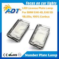 E-mark Auto LED LIcense Plate Light for BMW E46 4D(98-03)