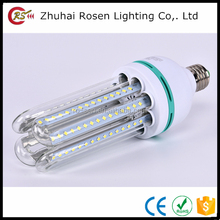 high lumen CRI power 3w 5w 7w 9w 12w 16w 24w 32w half spiral led energy saving light corn lamp bulb