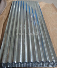 galvanized corrugated steel roofing sheet price/building materials