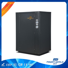 Auto-Defrost Energy saving efficient geothermal heat pump for hot water with green refrigerant R407C
