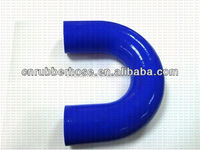 new product 2014 hot Silicone 45/90/135180 Degree Elbow Hose / U-shape Hose 51 mm for Racing Automobile & Motorcycle Radiator