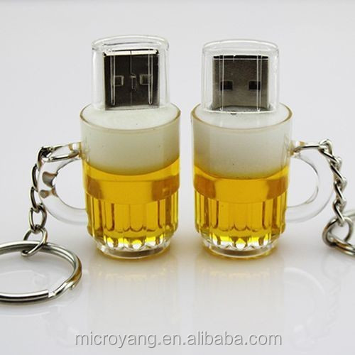 New Creative Beer Bottle USB 2.0 Memory Stick Flash Drive Pen Drive