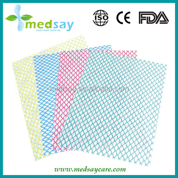 scale type disposable dipping non woven cleaning wipes