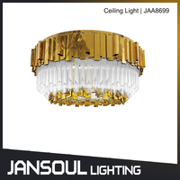 fancy home decoration living room modern crystal led ceiling lamp