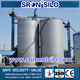 Bolted sheet type detachable easy portable cement silo in cement making machinery