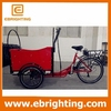 Stylish 3 wheeler petrol cargo bike company